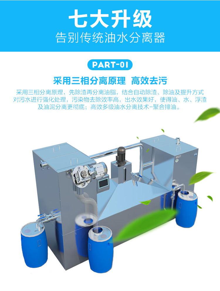 GBOS餐饮油水分离器